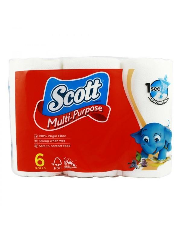 Scott Multi Purpose Kitchen Towels 6 Rolls